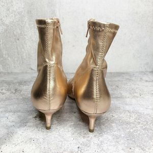 Free People Shoes - Free People Rose Gold Marilyn Pointed Toe Boots